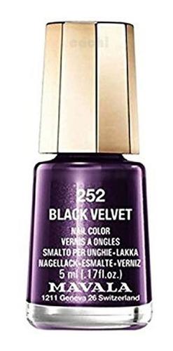 Esmalte Mavala Mini Black Velvet 252