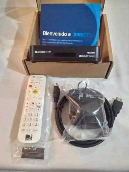 Descodificador Y Antena Directv Hd Instalación Gratuita