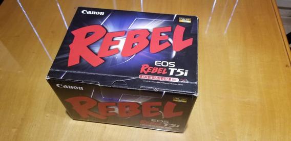 Kit Câmera Canon T5i Completa Com Lente 18-55 Is Stm