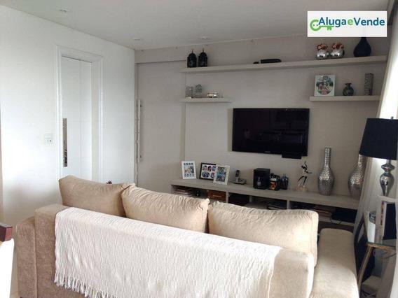 Apartamento Com 3 Dormitórios À Venda No Condomínio Supremo, 95 M² Por R$ 580.000 - Vila Augusta - Guarulhos/sp - Ap0126