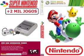 Emulador Super Nintendo Para Xbox 360 +2000 Jogos- Imediato