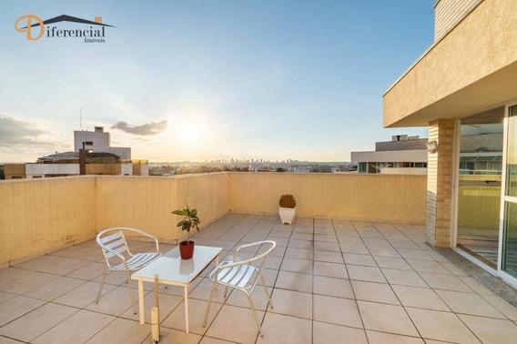 Cobertura Com 2 Dormitórios À Venda, 163 M² Por R$ 930.000 - Vila Izabel - Curitiba/pr - Co0166