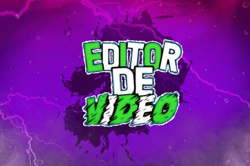 Editor De Vídeos / Design Gráfico