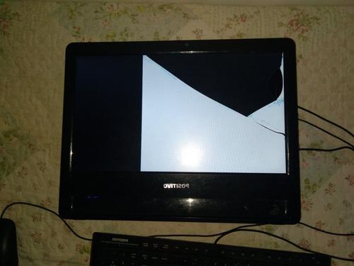 Computador Positivo Union Ub 3010 Com Tela Quebrada