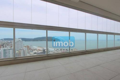 Apartamento Com 3 Dormitórios À Venda, 223 M² Por R$ 2.500.000,00 - Embaré - Santos/sp - Ap5217