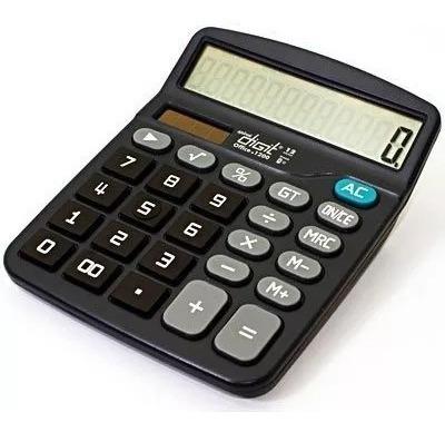 Calculadora De Mesa (bat/solar/12 Digitos) 1200 Spiral