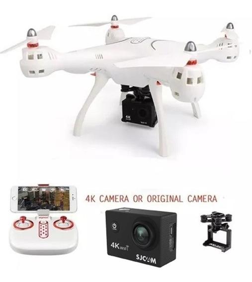 Drone Syma X8pro Gps Fpv Com Camera 4k E Cartão De Memoria