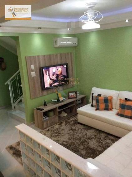 Sobrado Residencial À Venda, Jardim Almeida Prado, Guarulhos - . - So0065