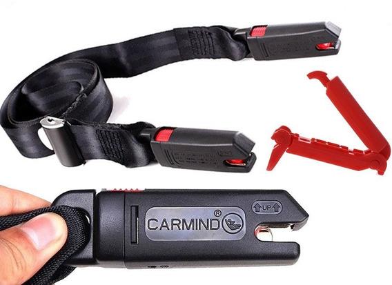 Isofix Cinto Segurança Original Carmind + Clip Alta Pressão