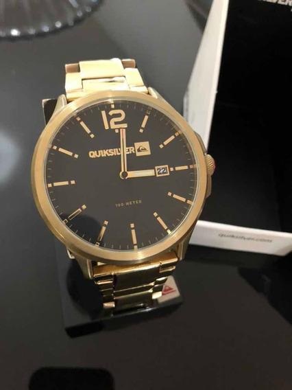 Relógio Quick Silver Beluka - Gold Black