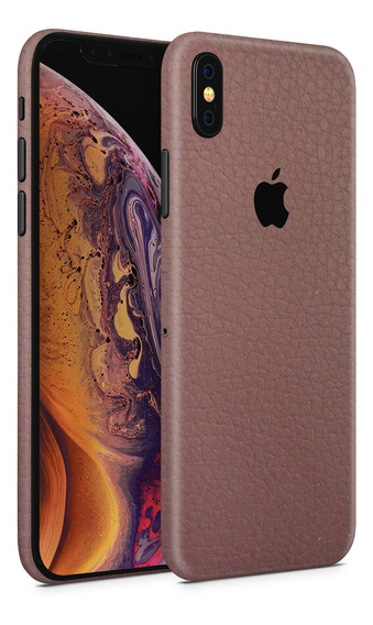 Skin Piel Cafe Para Telefonos Apple iPhone