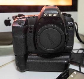 Câmera 5 D Mark Ii Com Battery Grip E Duas Baterias
