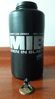 Vaso Blockbuster Hombres De Negro Mas Figurita(sin Tapa )