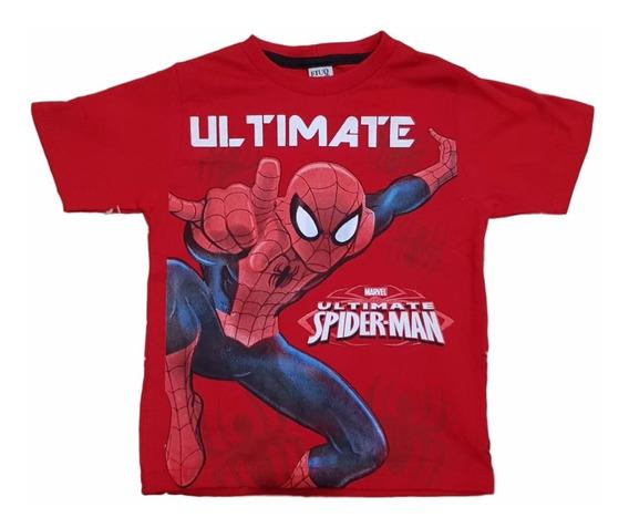 Lote10 Camiseta Infantil Marvel Vingadores Heroes E Outros