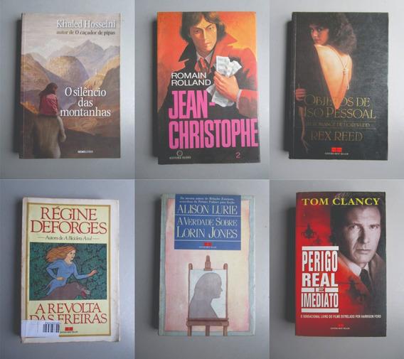 6 Livros - Literatura Estrangeira - Vários Autores - Lote 13