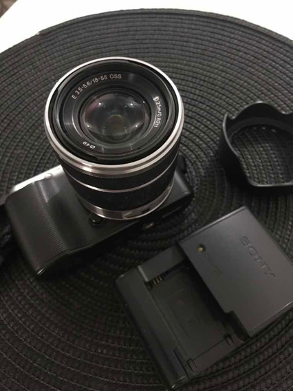 Câmera Sony Alpha Nex C3 + Lentes 18-55mm