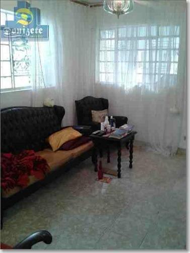 Sobrado Com 3 Dormitórios À Venda, 237 M² Por R$ 700.000,00 - Vila Alzira - Santo André/sp - So1454