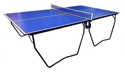Mesa De Ping Pong Profesional Plegable Reforzada Exc Calidad