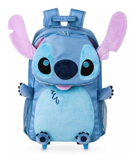 Mochila De Ruedas Stitch Disney Store! Envío Inmediato!
