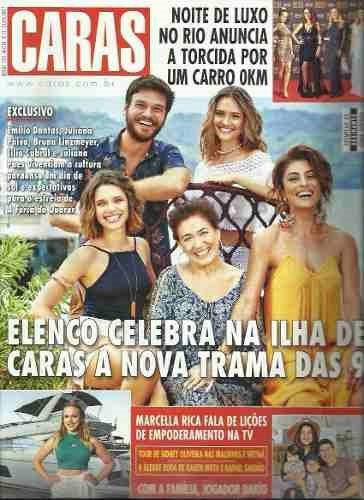 Revista Caras 1221/17 - Juliana Paes/emilio Dantas