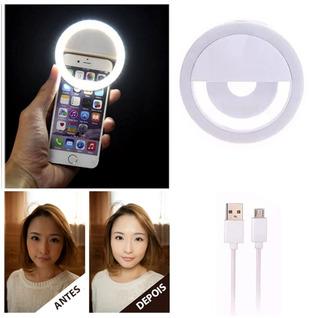 Flash Para Selfie No Smartphone Tablet