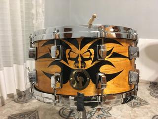 Redoblante Tambor Dp - Design Percussion 14 X 7 - Bestial