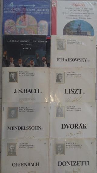 10 Lps Bach Liszt Tchaikovsky Música Clássica Frete Gratis