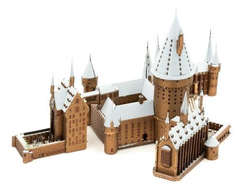 Castillo Hogwarts Nieve Premium  Size Harry Potter Detallado