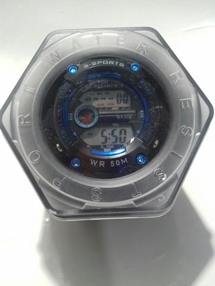 Relógio Digital Totalmente A Prova Dágua Tamanho Médio