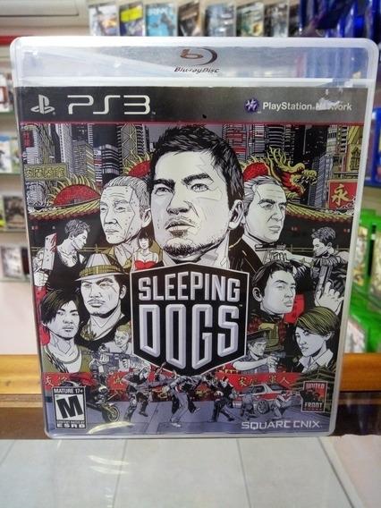 Jogo Usado Ps3 - Sleeping Dogs