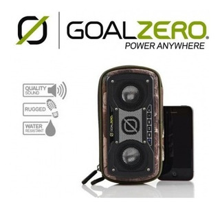 Parlante Solar Rugged Speaker Goalzero Blluetooth