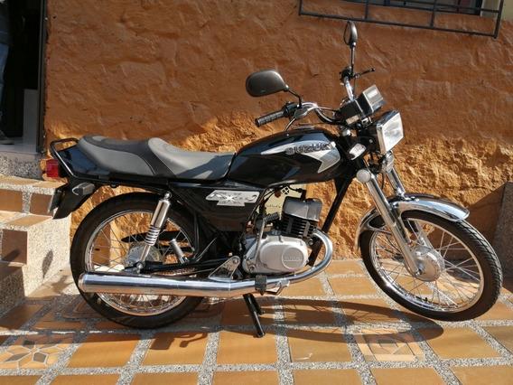 Suzuki Ax 100 Recién Restaurada, Perfecto Estado