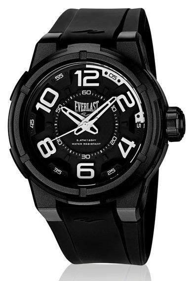 Relógio Everlast Masculino Torque E684 Caixa Abs E Pulseira