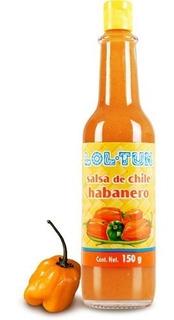 Salsas Mexicanas: Salsa De Chile Habanero Lol-tun