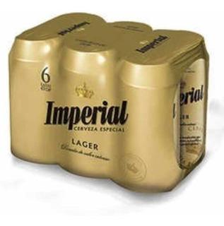 Cerveza Imperial Lata 473 X6