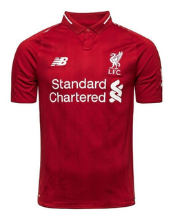 Camiseta Liverpool 2018 2019 S/n° Adulto Torcedor Original