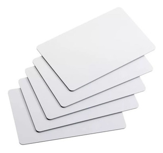 Tarjeta Pvc Nfc Ntag215 Sólida Resistente - En Blanco 10 Pz