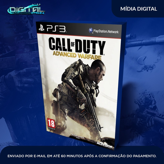 Call Of Duty Advanced Warfare Ps3 Jogo Digital Psn Envio Já