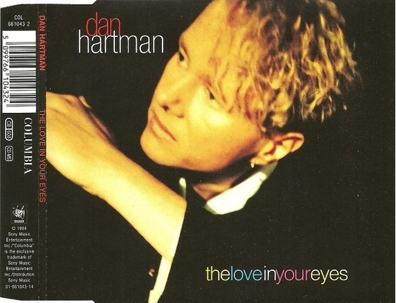 Cd Single Dan Hartman - The Love In Your Eyes
