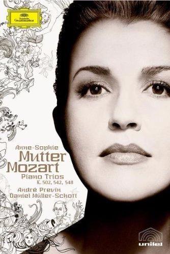 Anne-sophie Mutter: Mozart - Piano Trios - Dvd Orig E Lacrad