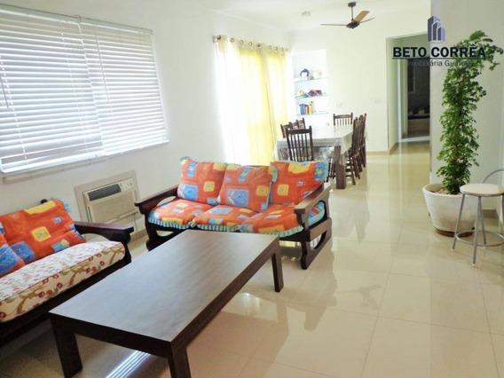 Guarujá, Enseada Amplo Apartamento Com 115m² De Área Útil, 3 Dorms, Próximo A Praia E Ao Comércio. - Ap0338