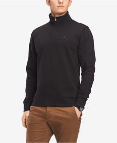 Suéter De Lã Tommy Hilfiger Zíper Masculina Original Eua
