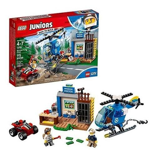 Jóvenes Lego / 4 + Montaña Policía Persecución 10751 Ki
