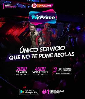 Tv Prime Televisión Por Internet Iptv