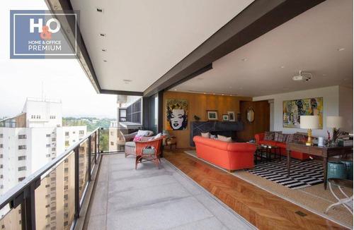 Imagem 1 de 25 de Apartamento Com 3 Dormitórios À Venda, 306 M² - Real Parque - São Paulo/sp - Ap2404