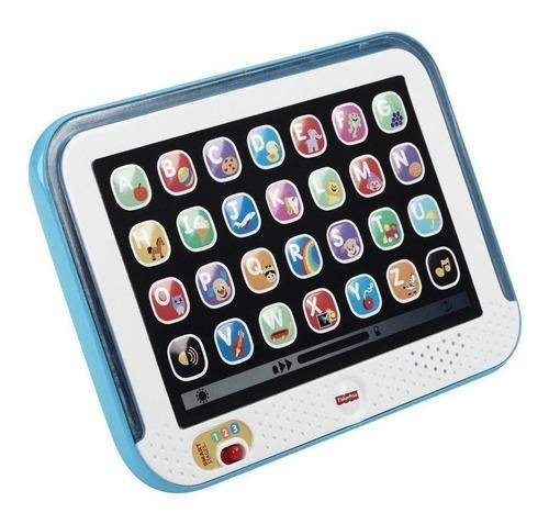 Imagen 1 de 2 de Tablet Rie Y Aprende Conmigo Fisher Price Chd90, Celeste