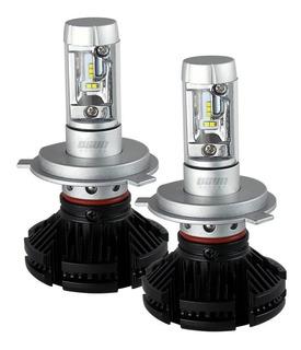 Kit De Focos De Led Osun® Alta Intensidad Ideal Para Luces Alta Y Baja En El Miso Foco H4 9007 H13