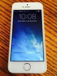 iPhone 5s Prata 16gb - Frete Grátis - Usado Excelente Estado