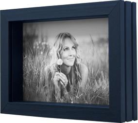 Porta Retratos De Mesa Para Foto 10x15 Cm Aspen Preto