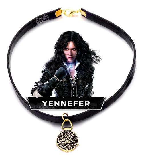 Gargantilha Yennefer Of Vengerberg The Witcher Colar Cosplay